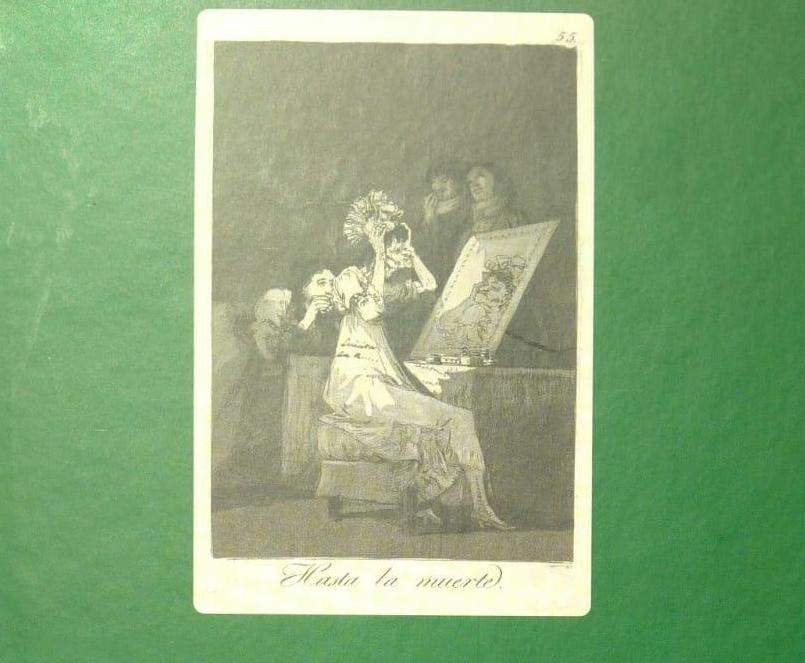 Segundo volumen de «Los comentarios manuscritos sobre los Caprichos de Goya»